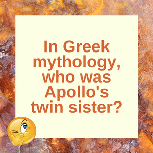 Question of the Day | Artemis and Apollo
