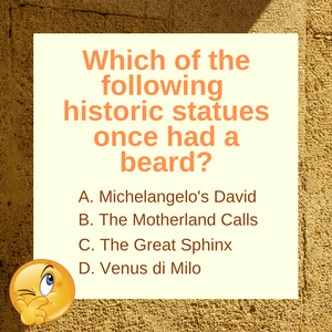Question of the Day | The Great Sphinx of Giza