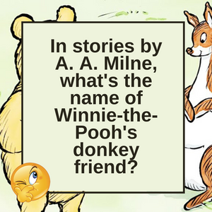 Winnie the Pooh and Eeyore Too