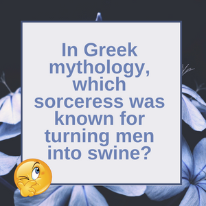 Question of the Day | Turning Men Into Swine