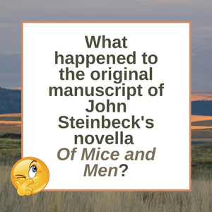 Question of the Day | John Steinbeck