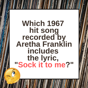 Question of the Day | Aretha Franklin