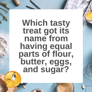 Question of the Day | Pound Cake