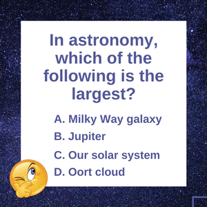 Question of the Day | The Milky Way