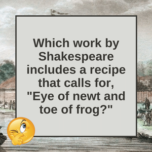 Question of the Day | Macbeth