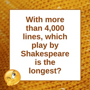 Question of the Day | Shakespeare's Hamlet