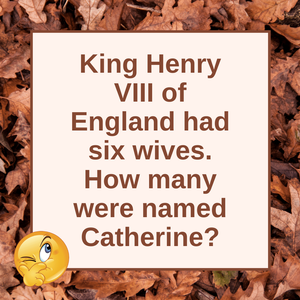 Question of the Day | Henry VIII