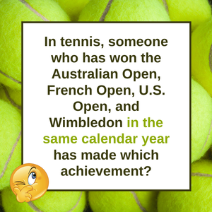 Question of the Day | Tennis Champions