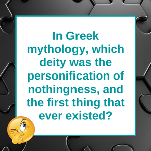 Question of the Day | Greek Mythology and Chaos