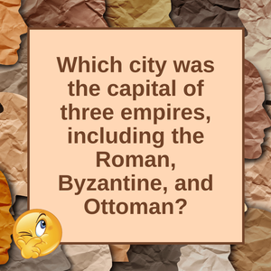 "Question of the Day | ""Istanbul, Not Constantinople"""