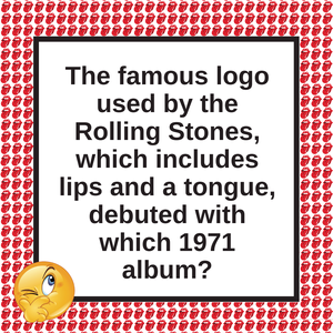 Question of the Day | The Rolling Stones Logo