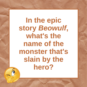 Question of the Day | Beowulf