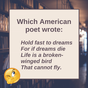 Question of the Day | Langston Hughes