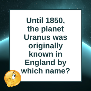 Question of the Day | Uranus