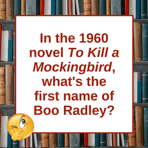 Question of the Day | To Kill a Mockingbird
